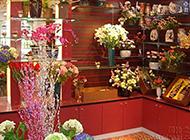 中式花店內部裝修效果圖欣賞