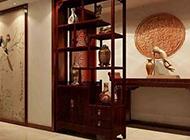 中式博古架古典风格装修效果图