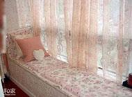 充满浪漫情调的飘窗窗帘效果图