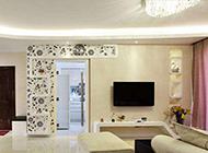 簡約溫馨的婚房裝修效果圖片