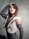 韩国第一美女车模黄美姬美图