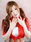 韩国顶级车模黄美姬美图