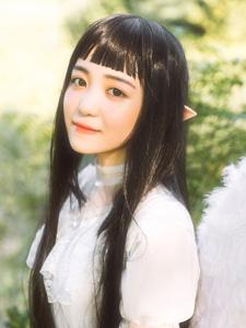 精灵精美少女日系梦幻色彩写真