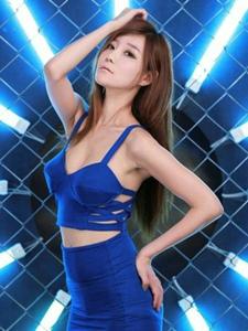 苗条性感韩国模特时尚靓丽气质写真