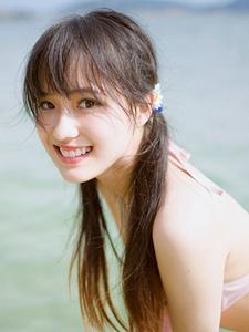 比基尼阳光甜美少女海滩清新活力写真