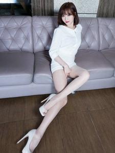 私房气质肉丝美腿模特性感丝袜秀诱惑写真
