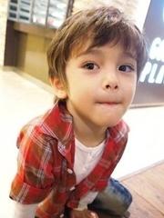 小男孩帥氣頭型圖片