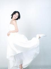 马思纯唯美清纯婚纱照写真