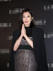 賈靜雯代言品牌內衣活動現場圖片