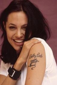 平安彩票导航网纹身  平安彩票导航网手臂上英文和龙纹身图片