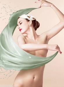 多位氣質美女人體藝術彩繪聚合寫真