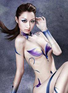 泰国性感美女COSPLAY伏魔者人体艺
