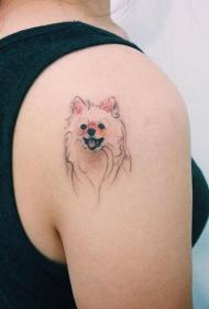 纹身后背  清新而又魅力不凡的后背纹身图案
