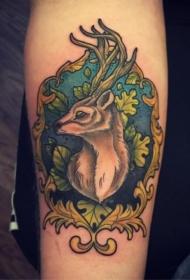 百乐动物纹身   多款可爱温顺的动物纹身图案