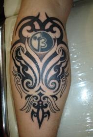 部落图腾纹身  多款关于部落文化的部落图腾纹身图案