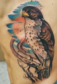 腰部纹身   多款男生腰部的创意纹身图案