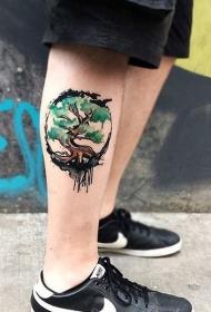 小腿纹身 平安彩票开奖网创意的小腿纹身图案