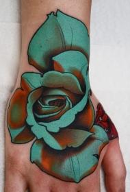 花朵紋身圖案   多款彩繪紋身和素描紋身的花朵紋身圖案