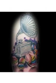 圆形纹身图案_9张妙趣横生的游戏弹珠纹身图案图集