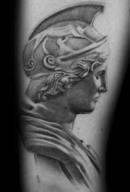 女神纹身图案-12张神采飞扬的女神纹身图案