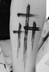創意紋身十字架--一組個性創意的十字架圖案紋身