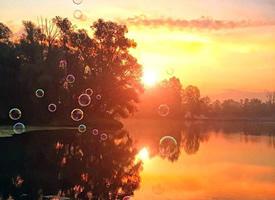 夕阳西下无限好的美景图片