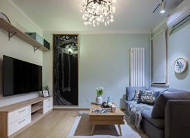 37平米精致的北歐風格單身公寓效果圖