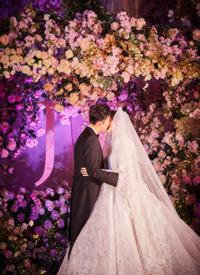 唐嫣羅晉童話般的婚禮現場跟拍圖欣賞