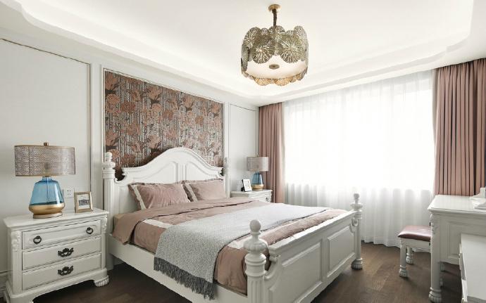 经典美式轻奢风三居室,精致优雅