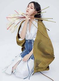 文淇時尚雜志高清寫真圖片