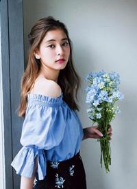 新木優子雜志寫真圖片:化身甜美女孩子