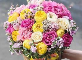 一束代表满满爱意的花束图片欣赏