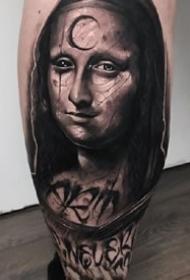 暗黑人物:一组暗黑风格的名人像纹身作品