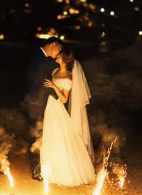一组特别浪漫有意境感的婚纱拍摄图片