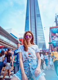 陳語安炫酷光影寫真圖片