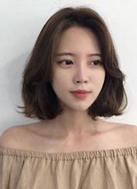 一组韩式唯美女生短发图片欣赏