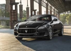 一組帥氣的瑪莎拉蒂Maserati Quatt