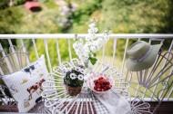 田园风格的阳台装饰图片_11张