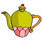 古典茶壶卡通图片_76张