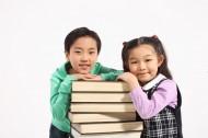 儿童和书籍图片_39张