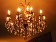 各式各樣的吊燈圖片_15張