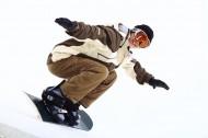 男性滑雪图片_45张