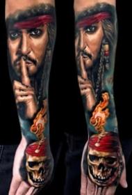 纹身与电影相结合的一组作品欣赏