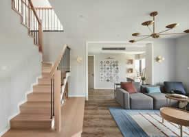 简约复式家居设计装修效果图欣赏
