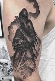 暗黑幽靈騎士紋身圖案9張