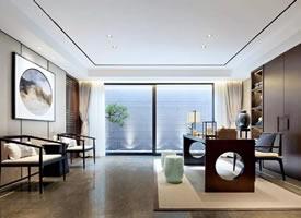 中式别墅装修效果图,中国式的优雅奢华空间