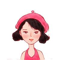 一组超级可爱的女生卡通头像图片欣赏