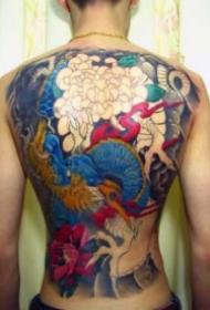 老传统的麒麟纹身图案9张