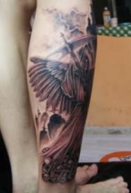 霸氣的一組歐美死神紋身作品欣賞