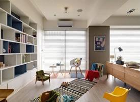 126㎡自由混搭風,時尚開放的空間設計